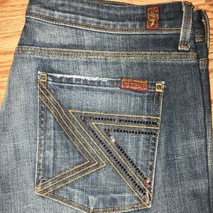 NWOT Flynt 7 For All Man Kind Jeans